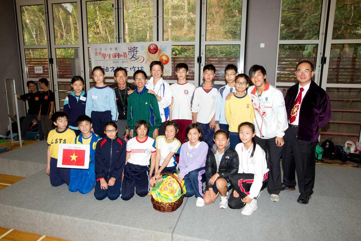 The winning team is Vietnam | 勝出的隊伍 - 越南組