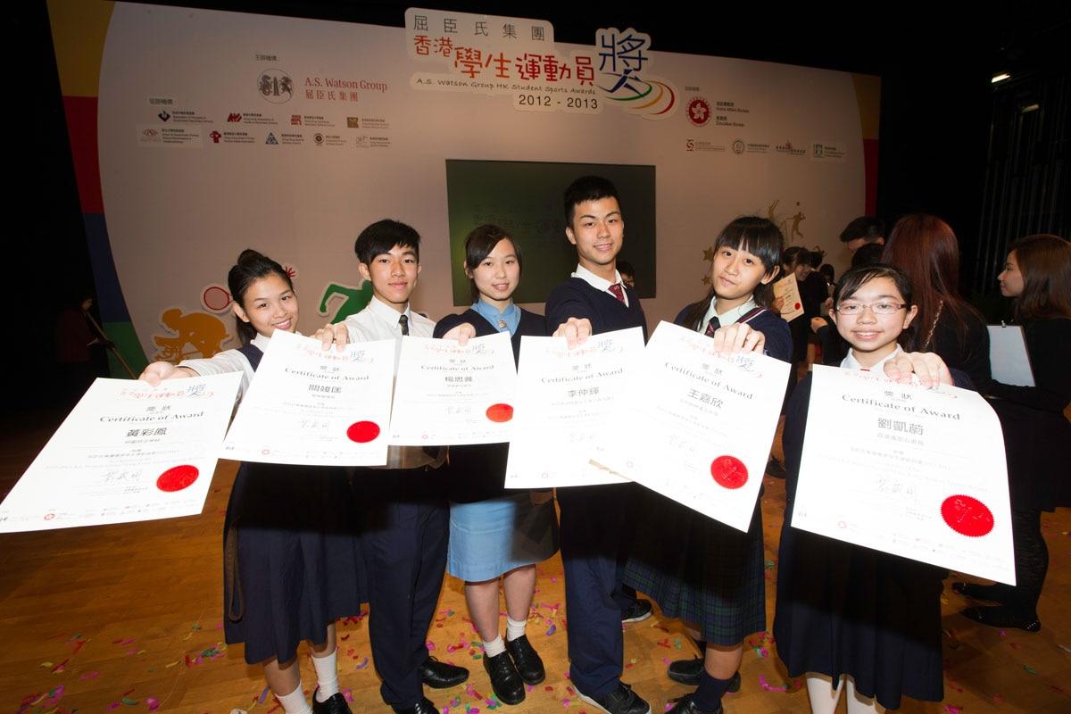 Photo of awardees | 得獎同學合照