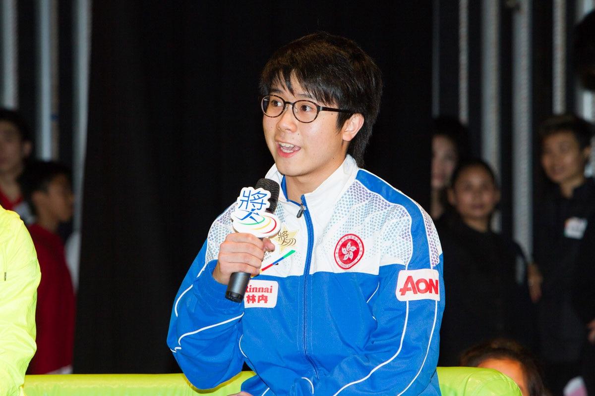 Elite Athlete Sharing - Mr. Chiu Chung Hei | 精英運動員分享 - 趙頌熙先生