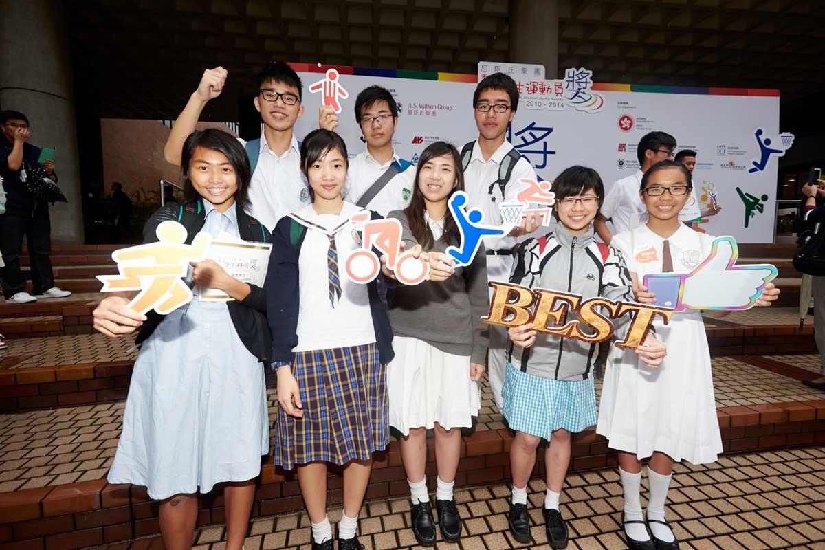 Award winners (1) | 得獎同學合照 (1)